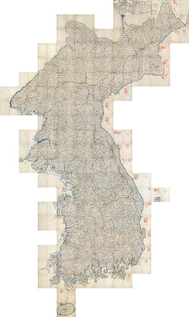 Bản đồ Daedongyeo