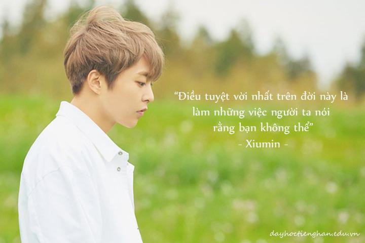 Những câu nói ấm lòng chạm đến tim fan của các thành viên EXO