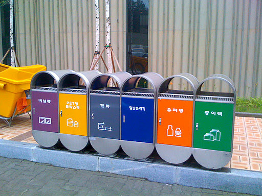 Những quy định về phân loại rác ở Hàn Quốc