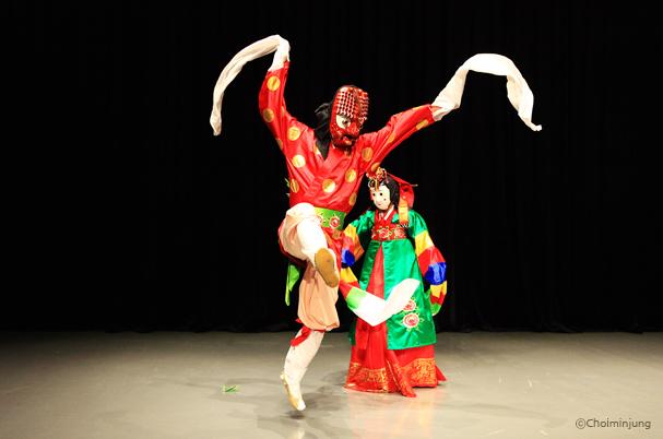 Talchum - nghệ thuật múa mặt nạ