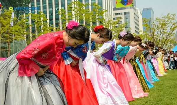 Nét văn hóa người ngoại quốc thích của Hàn Quốc