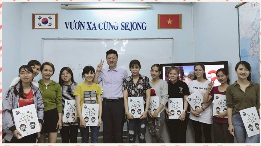 Trung tâm dạy tiếng Hàn Sejong