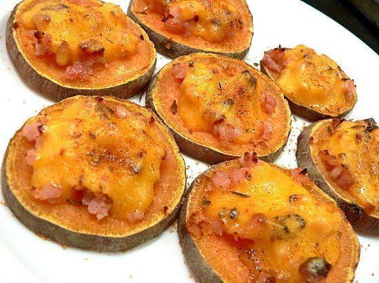 Roasted Sweet potatoes ( Khoai lang nướng)