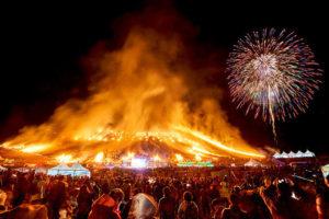 Lễ hội lửa ở Jeju